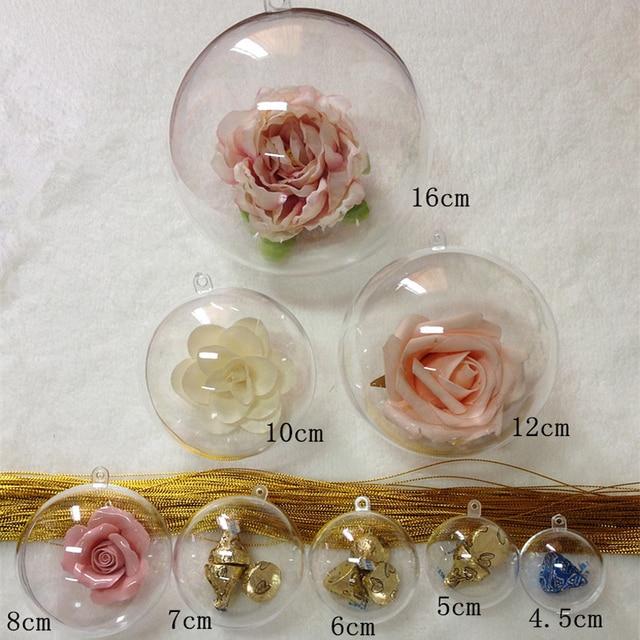 40-156 мм Новогодние товары Аксессуары для дома Новогодние товары прозрачный шар елка висит шар свадьба брак Декорации для вечеринок