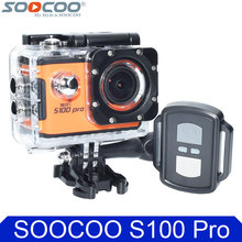100% Original SOOCOO S100 Pro 4K Wifi Action Camera 2.0″ Touch Screen Voice Control Remote Gyro Waterproof 30m Sport DV Car DVR