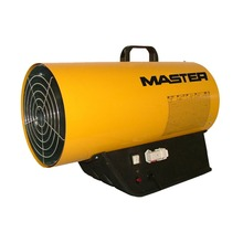 73kw electronic ignition Master Italian lpg gas industry heater big space hot air heater with connecting