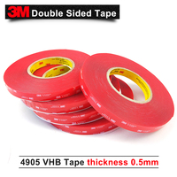 3M VHB 4905 Tape Specialty Tapes Stronger security is required 3M clear strong tape 12MM*33M/5Rolls