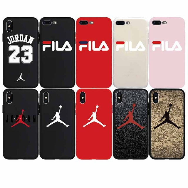 f65207b230 US $0.87 71% OFF|Cool Sport Culture Jordan AIR Soft Case for iPhone 7 7Plus  8 8Plus X Xs Max XR 6 6s Plus 5 5s SE Phone Cover Coque Fundas Shell-in ...