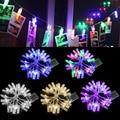 20 LED Photo Peg Clip String Light Party Wedding Decor 2.2m Multicolor Christmas -Y103