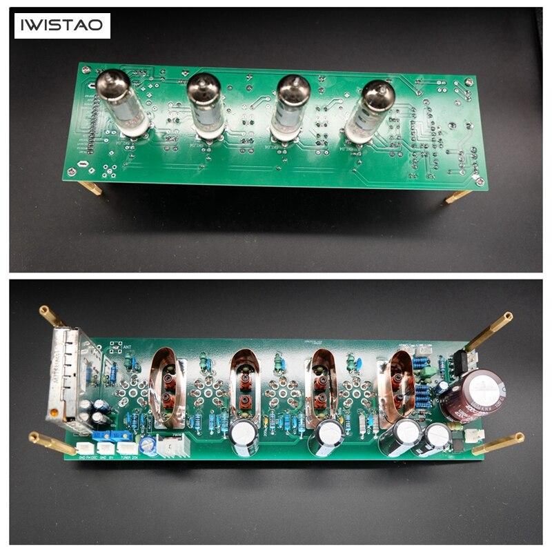 IWISTAO Frequenza Intermedia di Amplificazione Finito PCBA Tubo 6K4 e Ad alta frequenza Testa HIFI Audio 110 v/220 v FAI DA TEIWISTAO Frequenza Intermedia di Amplificazione Finito PCBA Tubo 6K4 e Ad alta frequenza Testa HIFI Audio 110 v/220 v FAI DA TE