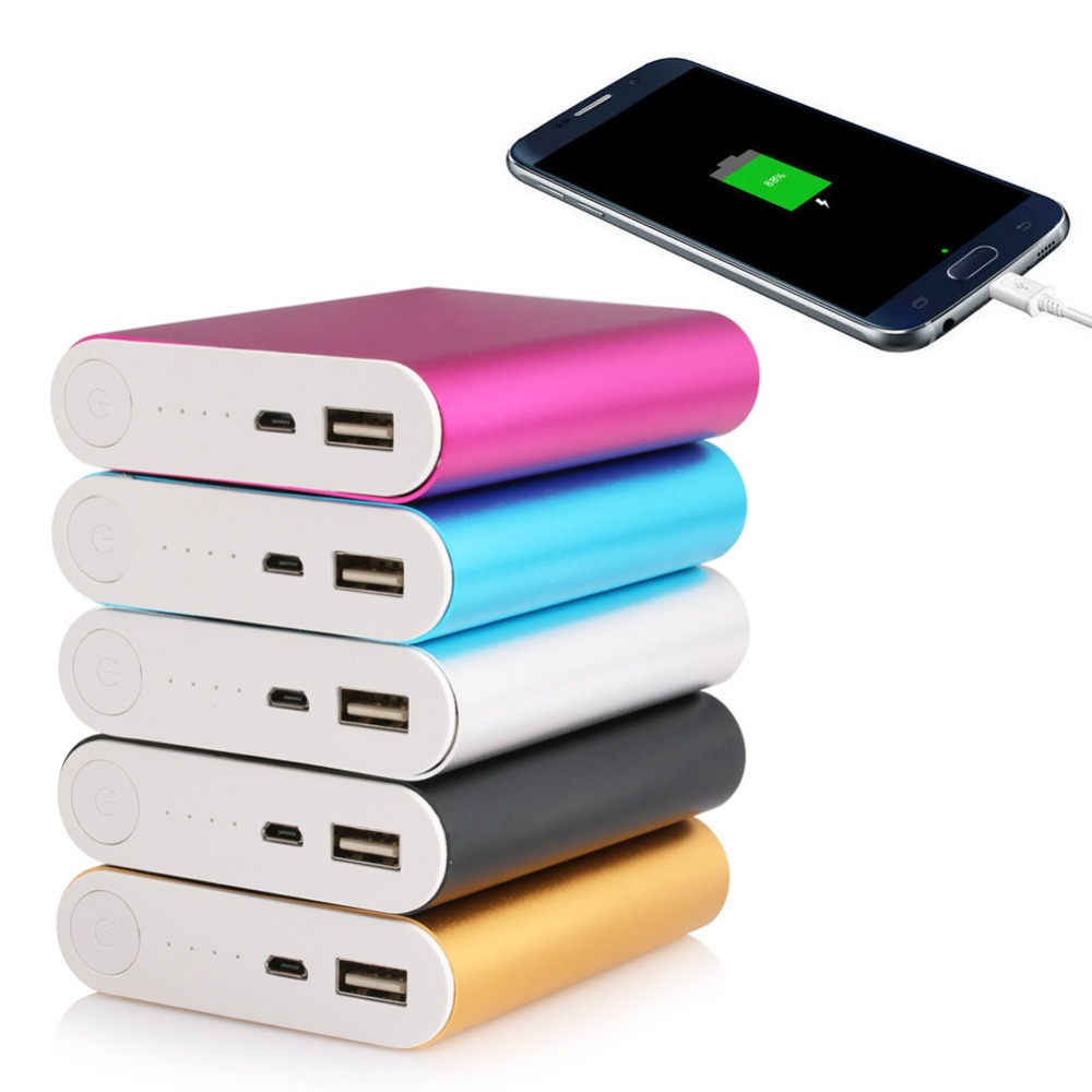 Portable Universal  USB 5V 2.1A 4X 18650 Power Bank Case Kit Battery Charger DIY Box For Smart Phone 5600mah 2x 18650 usb power bank battery charger case diy box for iphone for smart phone mp3 electronic mobile charging qiy25 d3s