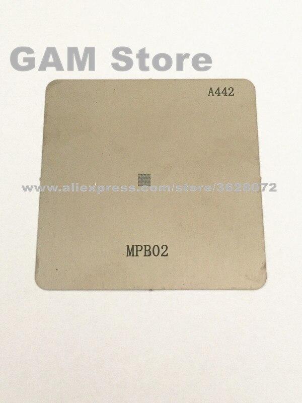 Mpb02 Bga Stencil Samsung S6 G9200 G920f Kleine Power Management Ic Kleine Pm Chip Reballing Pin Directe Verwarming Template 5 Stks/partij Bekwame Vervaardiging