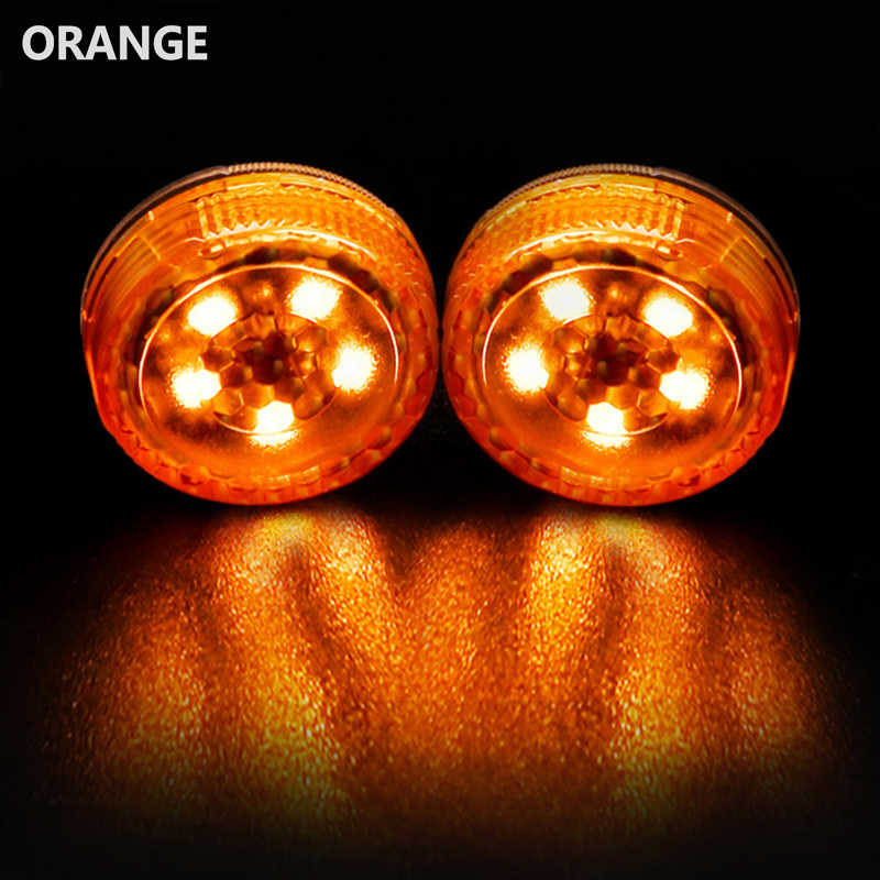 4 Pcs Brand Nieuwe Auto Led Deur Geopend Anti-Collision Waarschuwingslichten Rode Strobe Flash Draadloze Alarm Lamp Opvallende nuttig 3 Kleuren