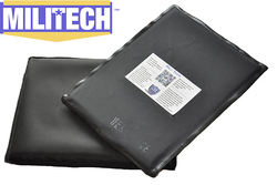 Militech 6 x 8 pair aramid ballistic panel bullet proof plate inserts body armor soft side.jpg 250x250