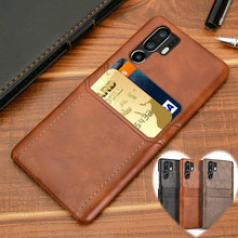Luxury Cow Leather Skin Case For Huawei P30 Pro P30 Lite Business Back Cover For Huawei P20 Pro Hard PC Shell Coque Fundas Etui