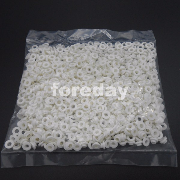 1000PCS TO-220 White Transistor Plastic Washer Insulation Washer Transistor