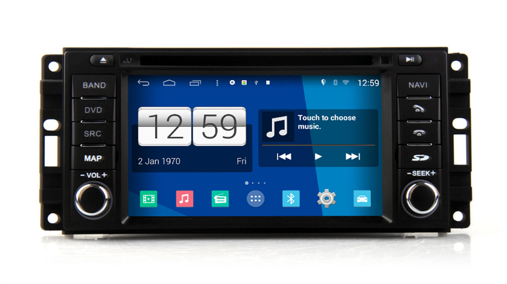Android 4 4 Car Multimedia Player For Dodge Durango 2008