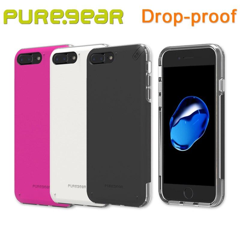 """imágenes para Puregear DualTek Original Al Aire Libre Pro Antichoque Caso de Shell para el iphone 7 Más (4.7 """"5.5"""") con El Paquete Al Por Menor 61586PG 61599PG"""
