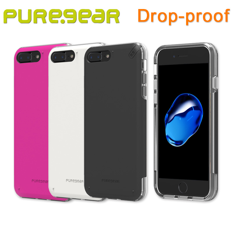 "bilder für Puregear Original Outdoor DualTek Pro Anti Shock Fall Shell für iPhone 7 Plus (4,7 ""5,5"") mit Kleinpaket 61586PG 61599PG"