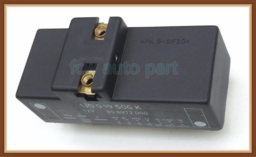 Audi Volkswagen Genuine OE Fan Control Unit 1J0919506K Radiator Fan Control Module #