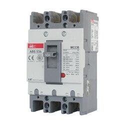 30A 40A 50A литой корпус автоматический выключатель 3 p 3 полюса 50 Гц 600 в ABS-53b