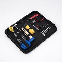 19pcs Clock Watch Tools Watch Repair Tool Kit Set Watch Case Opener Link Spring Bar Remover Hand Tool Set horloge gereedschap