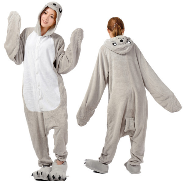 cb01193f8d New Adult Unisex Fashion Pajamas Cosplay Onesies Japan Anime Costumes Sea  Lions Cartoon Animal Pyjamas Sleepwears For Unisex-in Anime Costumes from  Novelty ...
