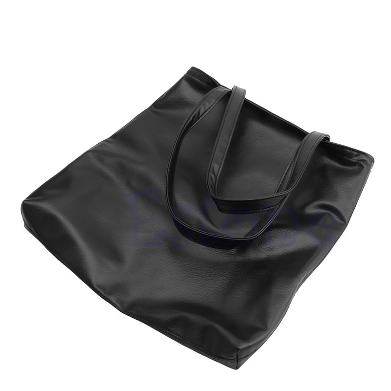 THINKTHENDO Women Faux Leather Handbag Shopper Shoulder Beach font b Big b font Bag Tote Purse