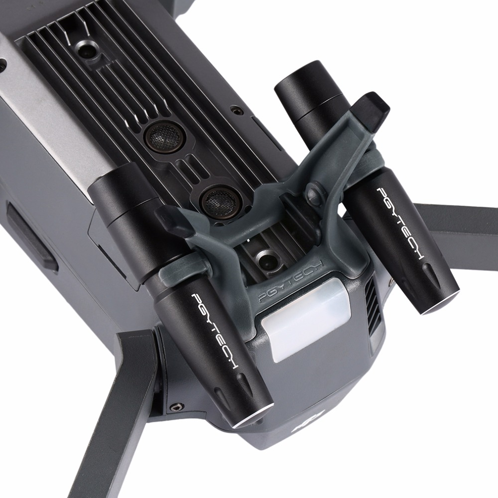 PGYTECH Mavic Pro Skid Extensions Heightened Landing Gear For DJI Mavic Pro with 2 LED Hand
