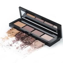 HENLICS Nude Eyeshadow 4 Color Palette Make up Palette waterproof Professional Matte Shimmer Pigmented Eye Shadow Powder цена 2017