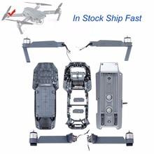Oryginalna DJI Mavic Pro część Body Shell śmigło silnik lewy/prawy przedni/tylny ramię górna/dolna pokrywa środkowa rama do wymiana dronów