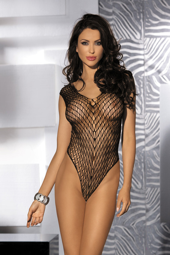 New Fashion Sexy Lady Black Mesh Teddy Erotic Nude Sex