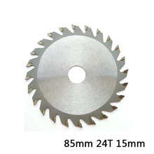 high quality Saw Blade Disc 85mm 24T 15mm Bore TCT Circular Saw Blade Disc for WORX WX423 RK3440K цены онлайн