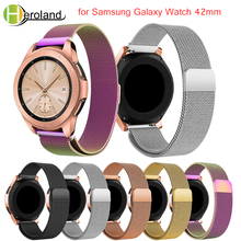 stainless steel band For Samsung Galaxy Watch 42MM milanese loop 20MM Replacement watches strap wrist magnetic buckle watchbands все цены