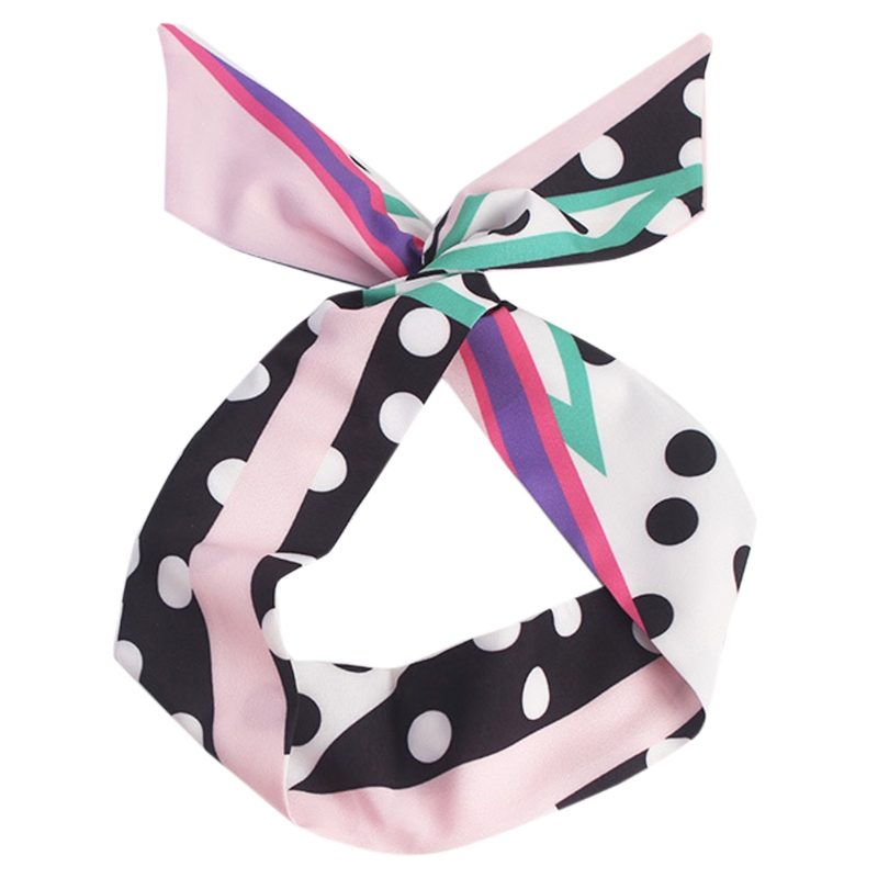 Fashion Lady Cute Bow Rabbit Earrings Ribbon Hairband Hair Accessories Wrap Gift