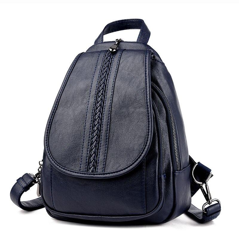 moda feminina mochila de couro Material Principal : Couro Genuíno