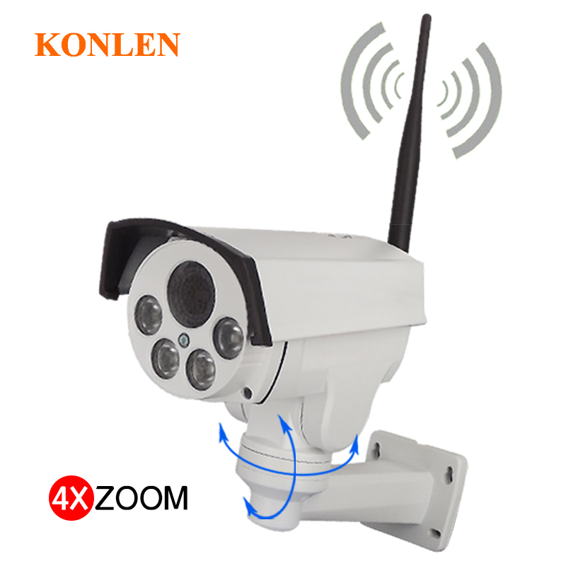 Camhi 1080P PTZ IP Camera Outdoor Waterproof WIFI 5X Optical Zoom 2MP Full HD Sony IMX323