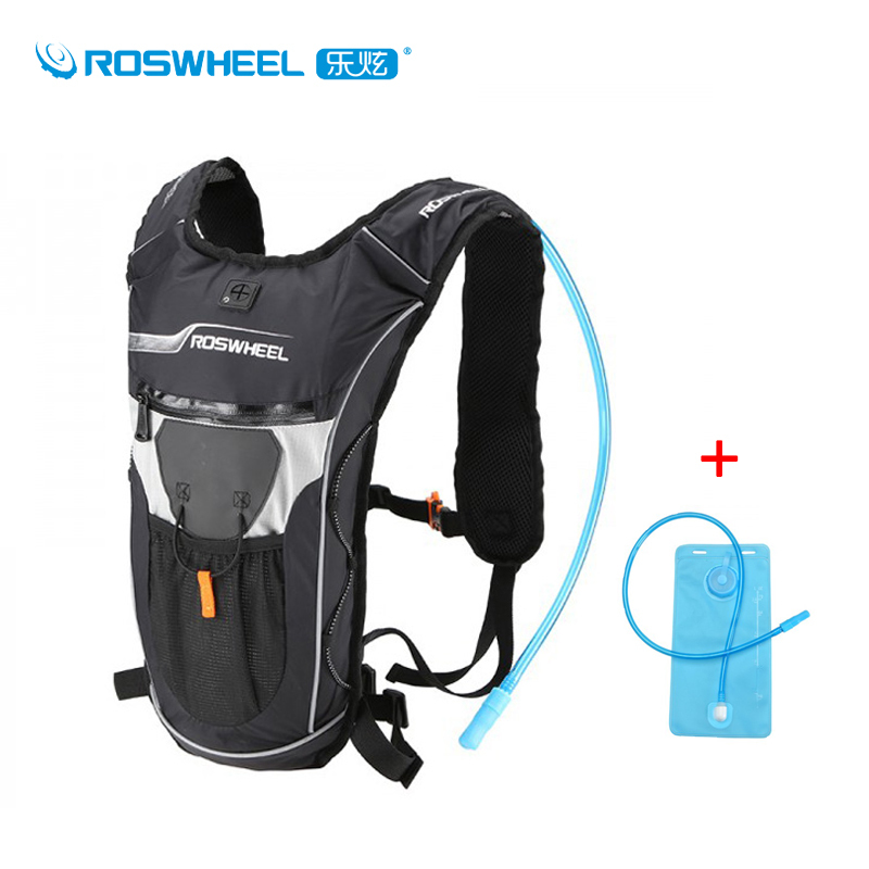 Roswheel 2L Water Bag 4L Sport Hydration Bladder Backpack Ultralight Multi-functional Bike Bag Camping Hiking Cycling Camelback roswheel 22l ultralight cycling mountain bike bag hydration pack water backpack reflective bicycle bike hiking climbing pouch