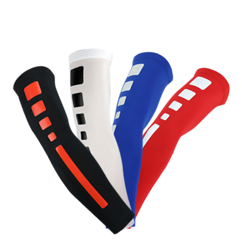 Sports Cycling Compression Arm Sleeves Basketball Shooting Elbow Arm - Sportswear and Accessories - Photo 2