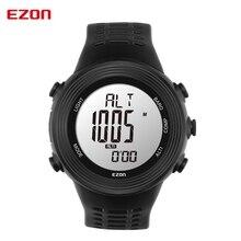 2016 Новая Мода EZON спортивные часы компас датчик манометр мода Мужская Военные часы 5ATM водонепроницаемый походы