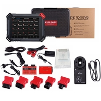 100% Original XTOOL X100 PAD2 OBD2 Diagnostic Tool With KC100 Auto Key Programmer EPB EPS DPF Odometer WIFI Scanner