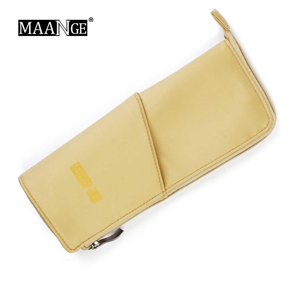 MAANGE 1 pcs Maquiagem Portátil Saco de Viagem de Couro PU Compõem Caso Moda Bolsa Cosmetic Bag Multifuncional Ferramentas Fáceis de carry