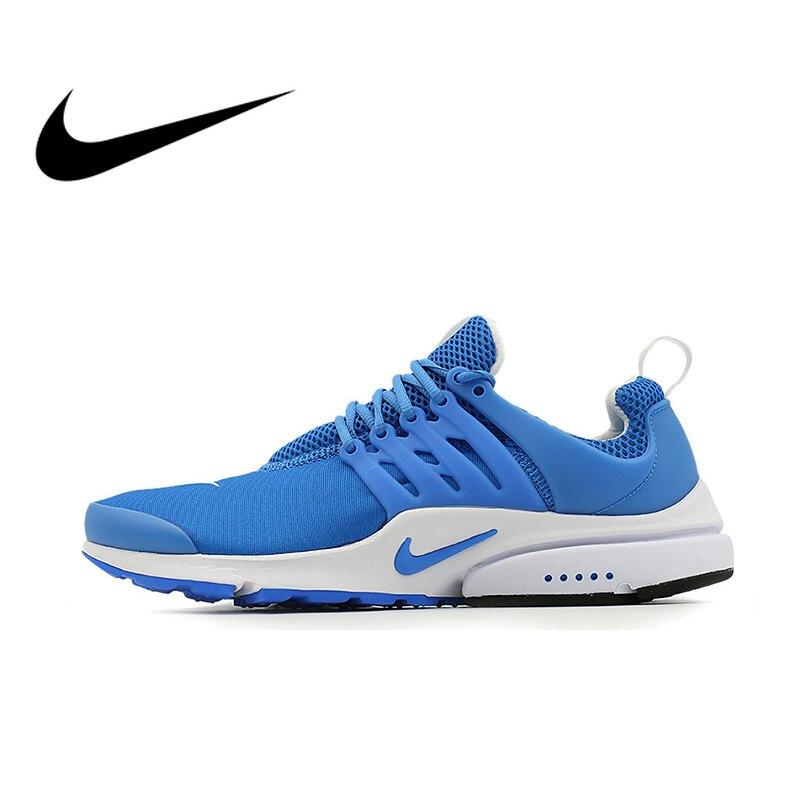 Chaussures de course pour hommes NIKE respirant automne AIR PRESTO chaussures de Sport en plein AIR Jogging confortable Durable