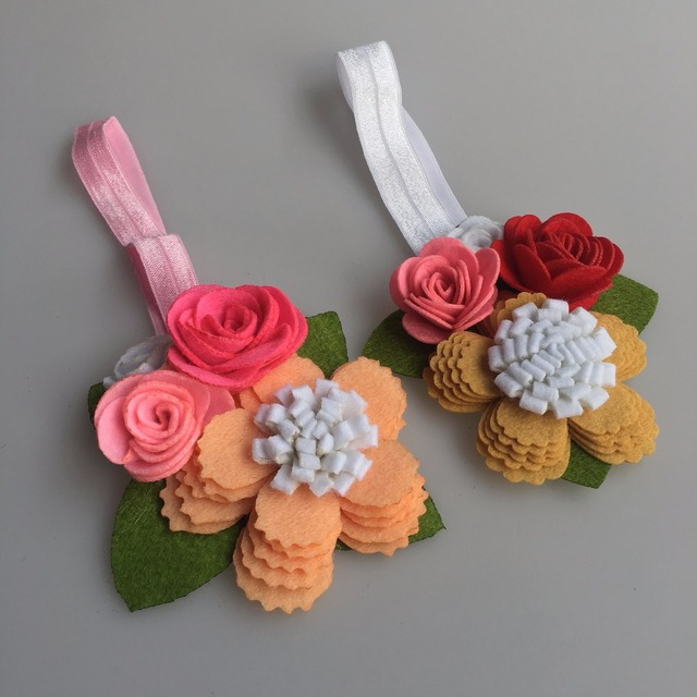 trend 2018 amazon hot selling children s hair accessories manufacturers  china hair bands for girls felt flower hairband 57f84f74bb1