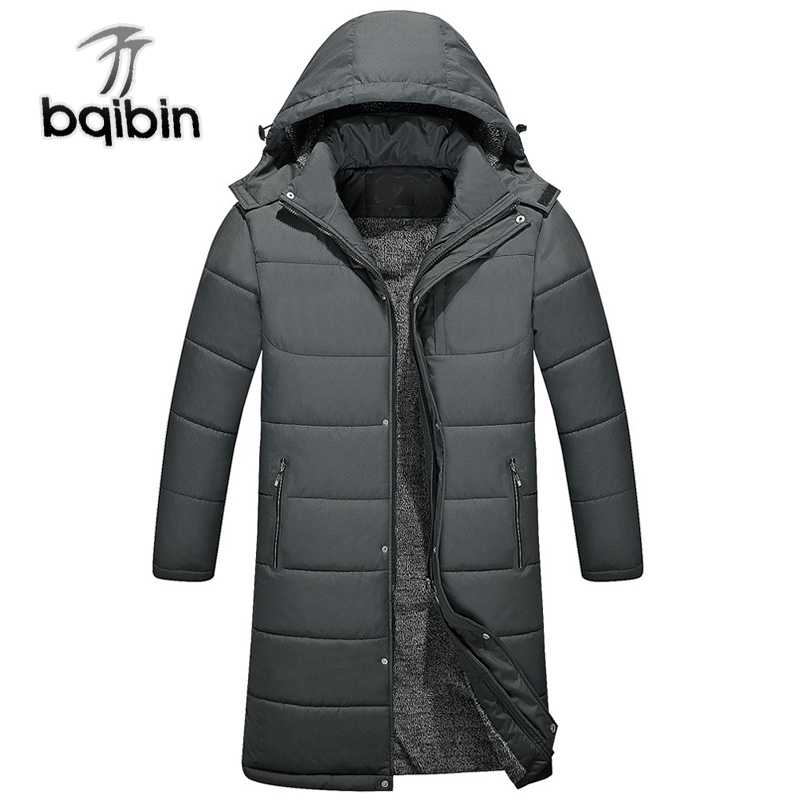 -30 Nieuwe Winter Mannen Hooded Dikke Warme Parka Jas Bontkraag Winddicht Casual Lange Mannen Kleding Jas Jas Wees Nieuw In Ontwerp