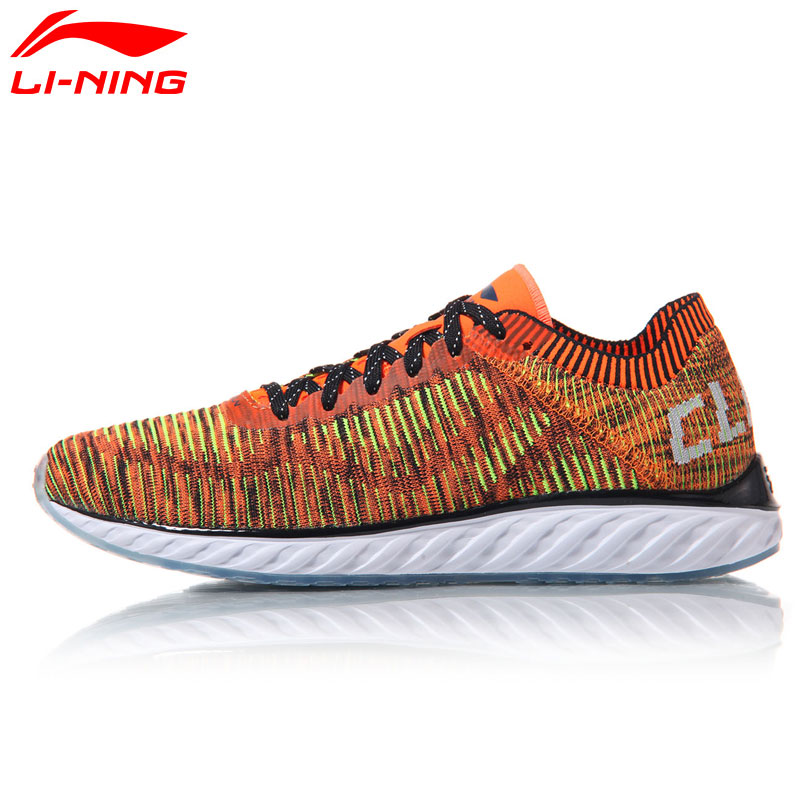 Li-Ning Running Shoes Men Cushion Sports Shoes LN CLOUD IV Light Weight LiNing Sneakers ARHM025 XYP548 li ning original men sonic v turner player edition basketball shoes li ning cloud cushion sneakers tpu sports shoes abam099