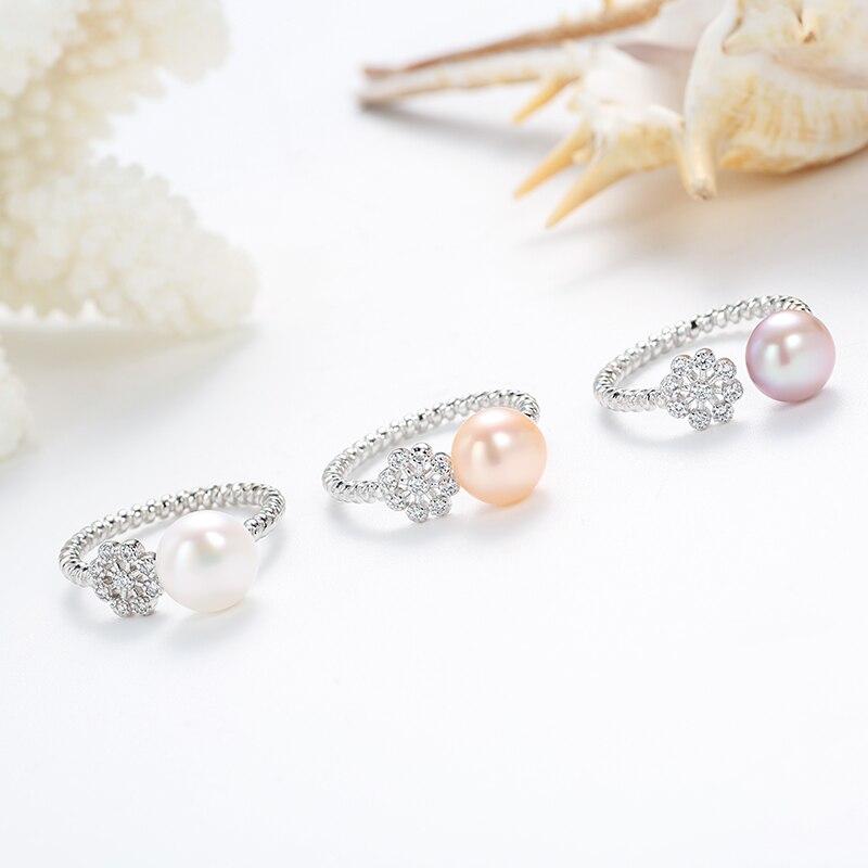 HENGSHENG Hot Sale Fashion Snow Party Rings For Girls Rings Wedding Rings Women Summer Ring Christmas Gift