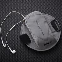 Szblaze Unisex Large capacity   Running   Armband Bag Reflective Jogging Sport Fitness Arm Band Pocket For 6.6 inch Mobile Phone