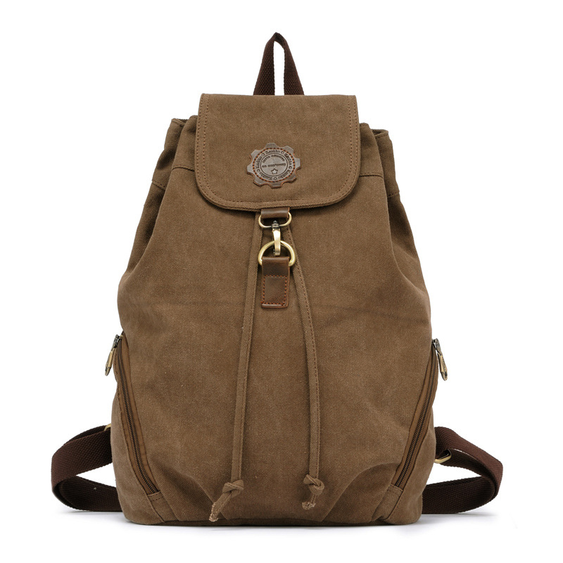 Hot sale Vintage Canvas Backpack Classic fashion women's Backpack School Bag Travel Bags Large Capacity Travel Backpack Bag Scho best sellers canvas backpack classic fashion women s small fresh school bag travel bags large capacity travel backpack bag