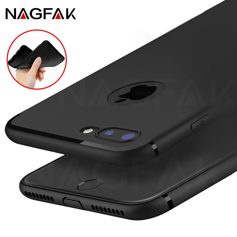 Luxury Silicone TPU Case for iPhone 8 7 Cases 5s 6s plus 5 SE Soft Silicon for iPhone 8 6 Case Plus Full Cover Phone Bag Cases
