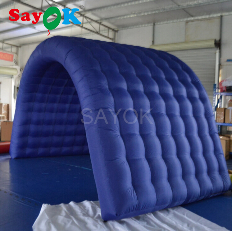 Inflatable Tunnel Tent with Air Blower for Event Exhibition Trade Show Business(2.4x2.4x2.5m)Inflatable Tunnel Tent with Air Blower for Event Exhibition Trade Show Business(2.4x2.4x2.5m)