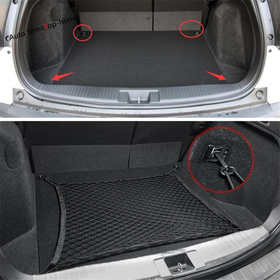 Obedient Yimaautotrims Interior Elastic Rear Back Cargo Trunk Storage Organizer Luggage Net Holder Cover For Honda Hr-v Vezel 2014-2019 Attractive Fashion Interior Mouldings Automobiles & Motorcycles