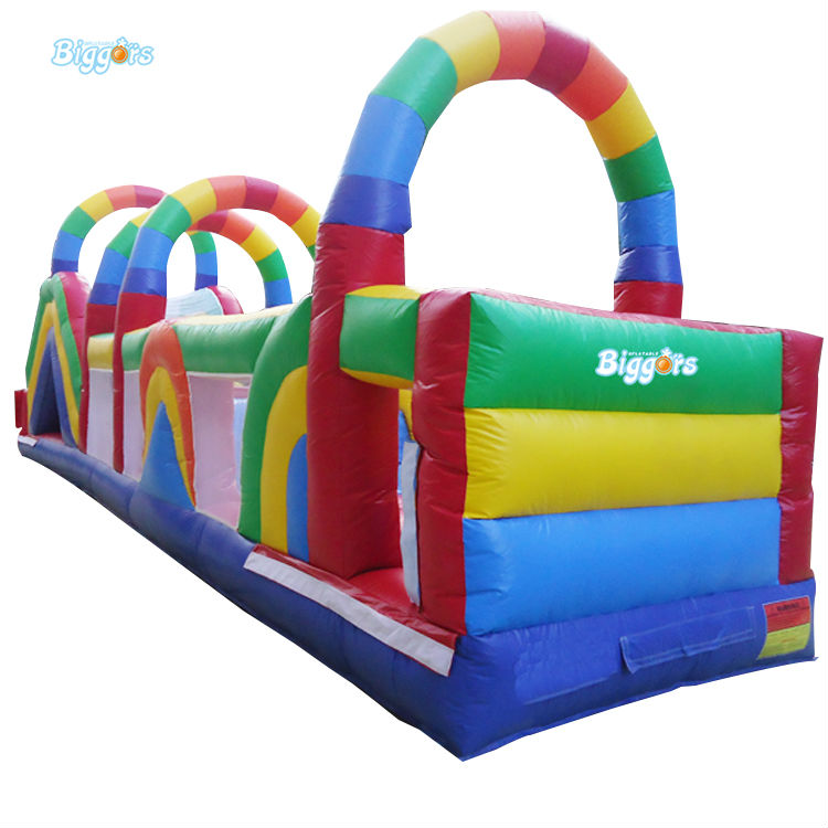 цена на Inflatable Biggors Commercial Grade Inflatable Obstacle Course Inflatable Sports Games