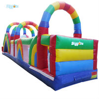 Inflatable Biggors Commercial Grade Inflatable Obstacle Course Inflatable Sports Games