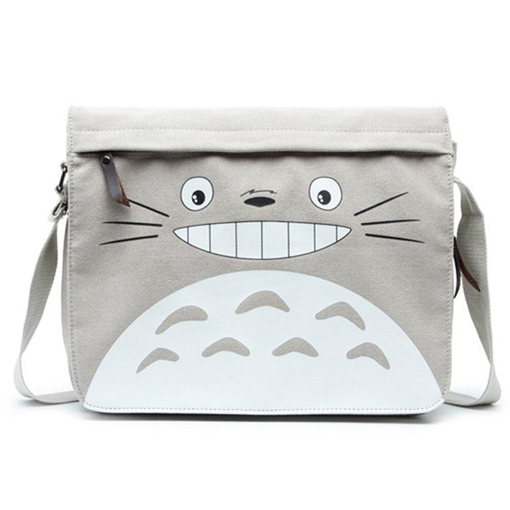 Totoro Bag Anime Messenger Bag for Boys Girls Sling Bag Crossbody Bookbag