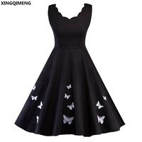 In Stock Cheap Simple Little Black Dress Cocktail Dresses Short Elegant Homecoming Dress Knee Length Fancy