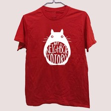 Studio Ghibli My Neighbor Totoro –  Smile Totoro Logo Shirt